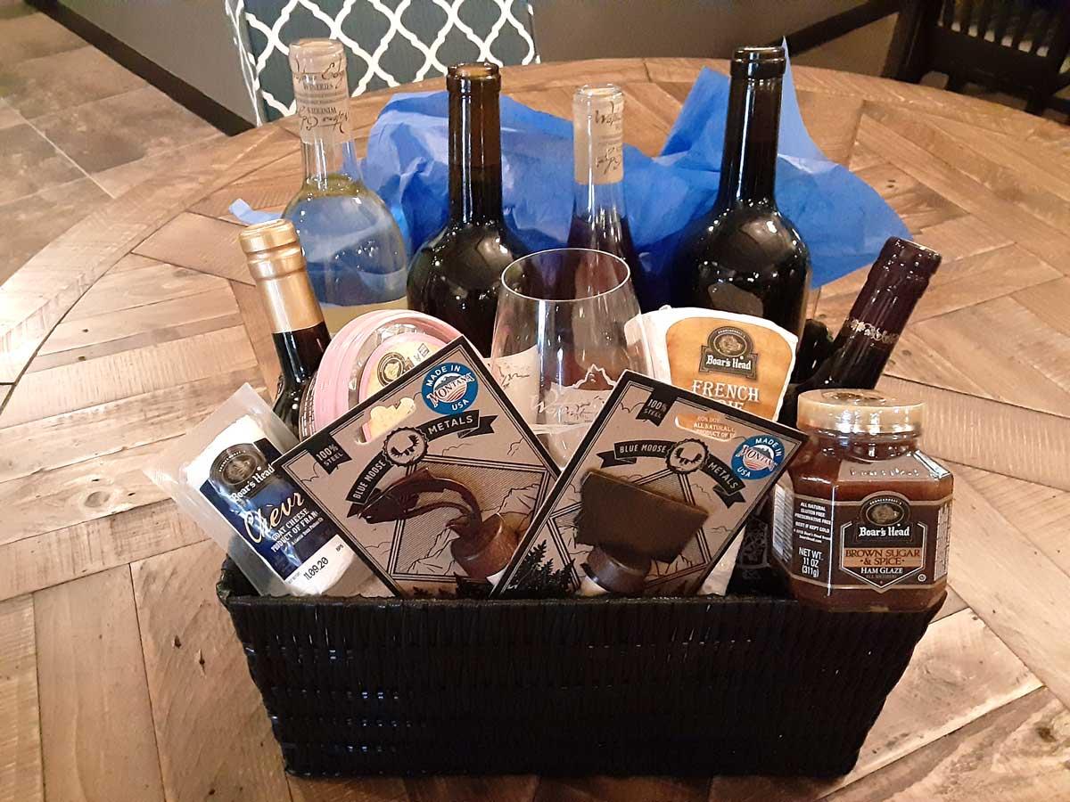 Holiday Wine Baskets